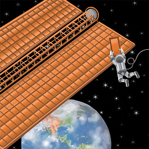 Image of Solar Space Station