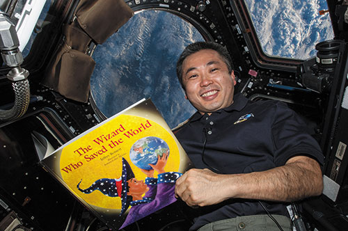 Japanese astronaut Koichi Wakata